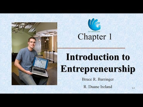 entrepreneurship bruce barringer Authorized adaptation from the global edition, entitled entrepreneurship: successfully launching new ventures, fourth edition, isbn 978-0-27-376140-2 by bruce r barringer and r duane ireland, published by pearson education ©2013--title page verso.