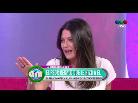 AM Telefe - El juego de las coincidencias - Guillermo López y Sofía Jimenez.