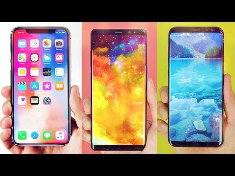 iPhone X vs Galaxy S8 vs Note 8 - Which Should You Buy?