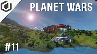 Space Engineers | Planet Wars - Ep 11 | Repairs & Upgrades!
