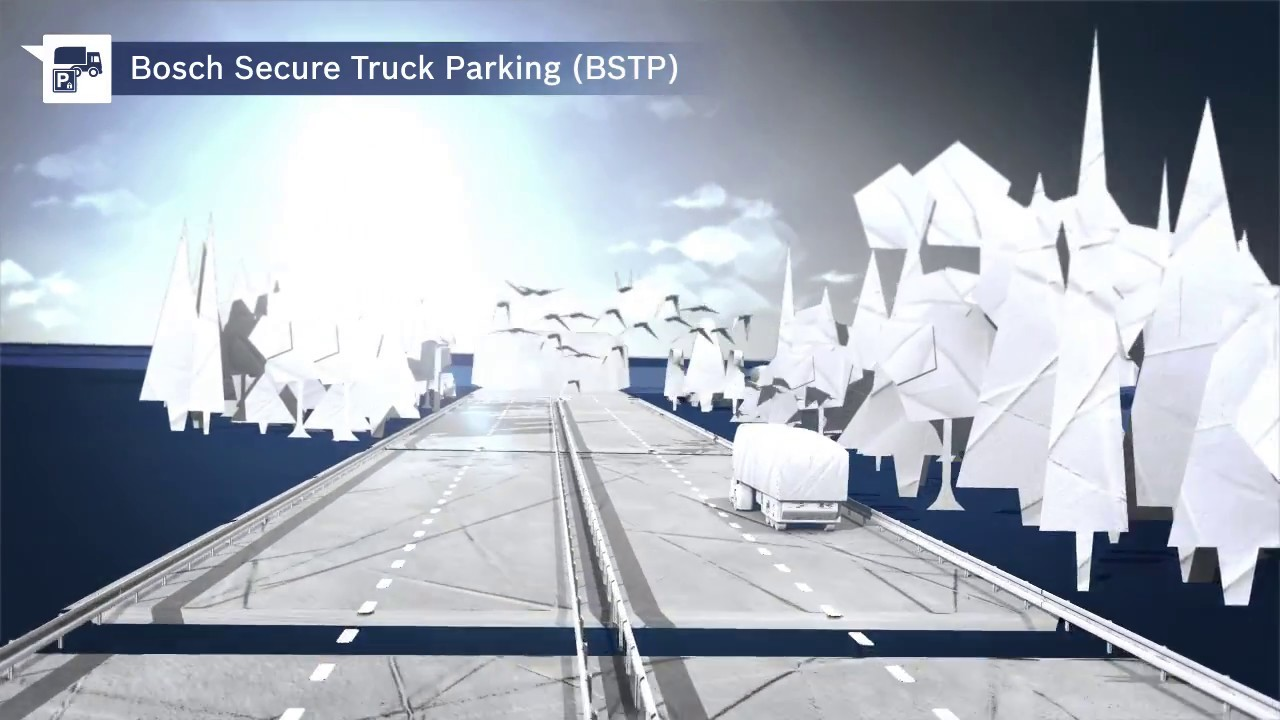 Secure Truck Parking | Bosch Global