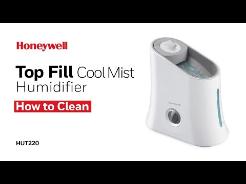 Honeywell Cool Mist Humidifier HUT220 - How to Clean