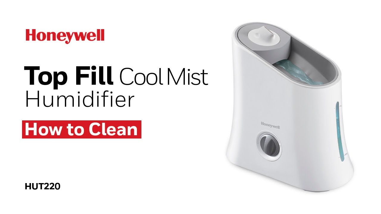 Honeywell Cool Mist Humidifier Hut220 How To Clean Youtube