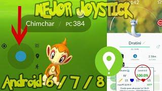 Hack + Jostick Pokemon Go Versión 0.123.2 4ta Generación  de pokemon para android 6/7/8
