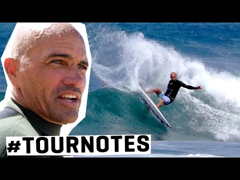 KELLY SLATER Preps For His 30th YEAR ON TOUR! | #TOURNOTES