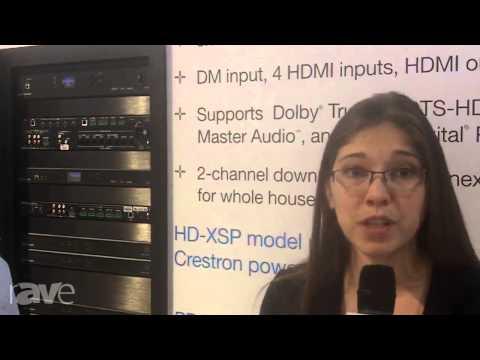 CEDIA 2013: Crestron Details HD-XSPA Amplifier
