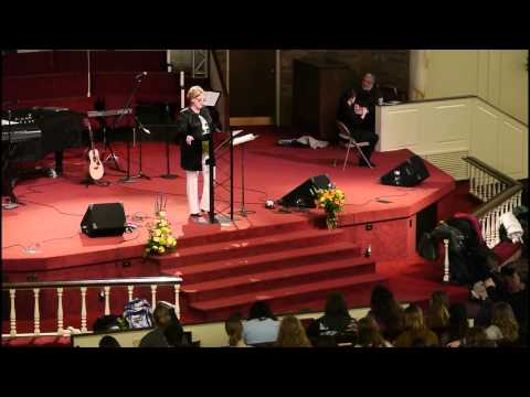 Chapel February 9, 2015 - Ellen Harbin