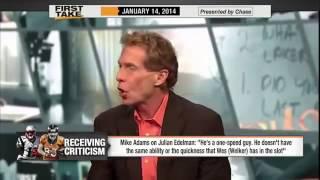 Wes Welker Better Than Julian Edelman      ESPN First Take