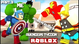 ROBLOX / HAYKEYES FLOOR !!! AVENGERS TYCOON !!