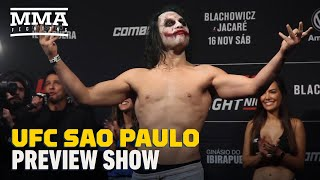 UFC Sao Paulo: Blachowicz Vs. Jacare Preview Show - MMA Fighting