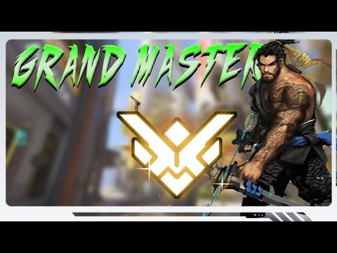 Getting Grand Master with SoloQ - Hanzo Overwatch Gameplay #35