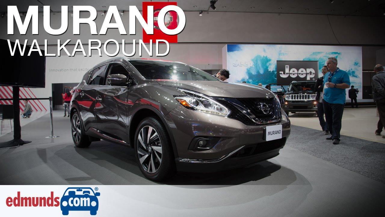 2016 Nissan Murano Walkaround Review Edmunds