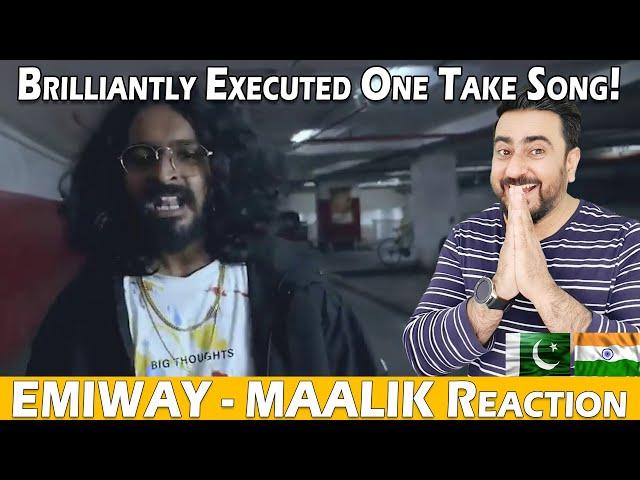 EMIWAY - MAALIK - OFFICIAL ONE TAKE MUSIC VIDEO | Reaction | IAmFawad