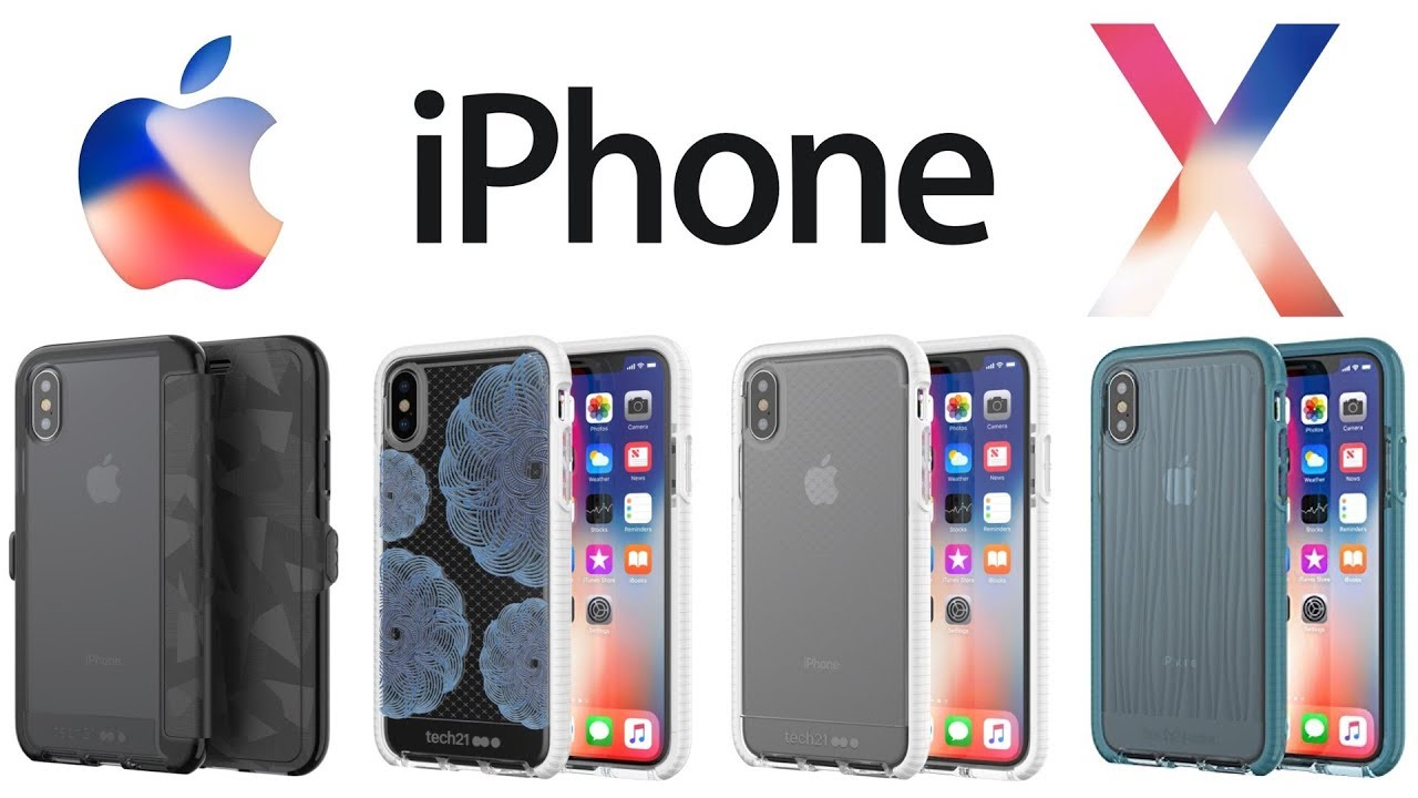 the best attitude ab478 9e966 iPhone X - Best iPhone X Cases & Tempered Glass Screen Protectors From Tech  21! [Review]