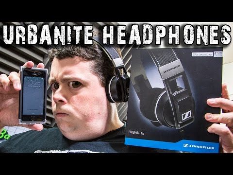 Reviewing Sennheiser Urbanite Headphones : iPhone, iPad, iPod