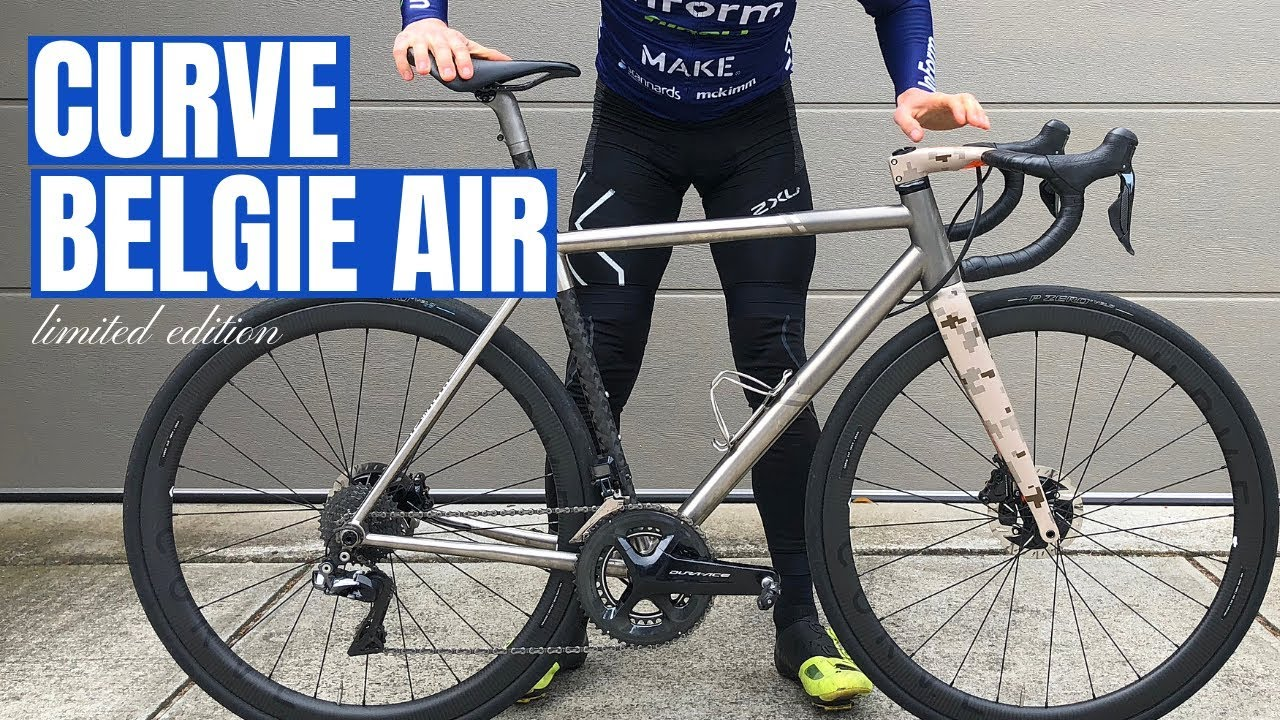 Curve Cycling & the Belgie Air Review (My First Titanium