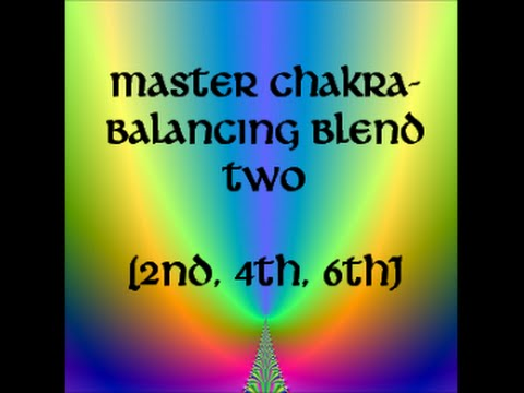 (CREATIVITY, COMPASSION & INSIGHT) Chakra-Balancing Master Frequency Blend TWO (2,4,6)