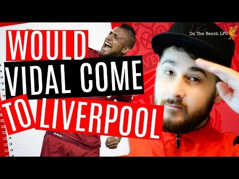 Liverpool FC News Latest   Vidal To Sign For Liverpool