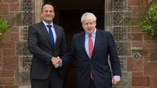 Leo Varadkar says Brexit deal possible by end of October after meeting Boris Johnson