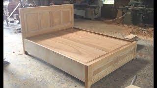 Cómo crear una hermosa cama -  Increíble tecnología para trabajar la madera