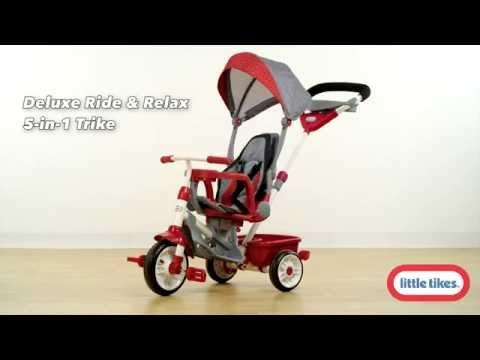 6fd61b3898d Little Tikes Ride & Relax 5-in-1 Trike - YouTube
