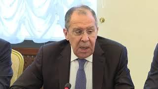 Выступление С.Лаврова на заседании МССИ РСПП
