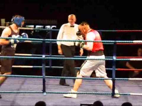 October 09 - Boxing In Woking, Adam Daly (Red) vs ...