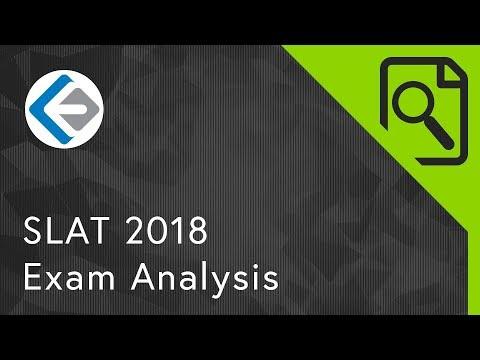 SLAT 2018 Exam Analysis