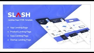 Slash - Multipurpose Landing Page HTML Template | Themeforest Download