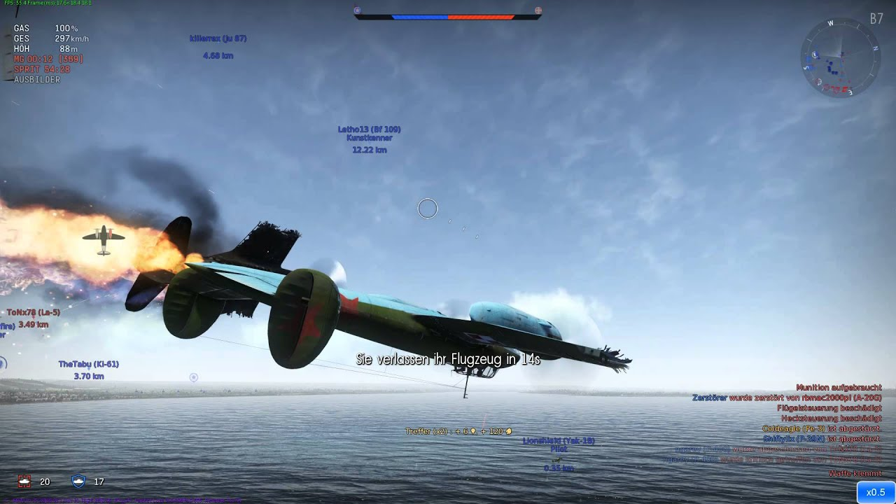 crashing war thunder