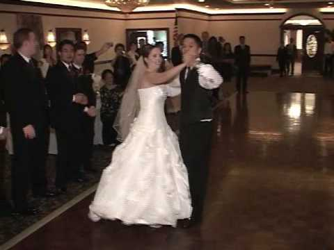 First Wedding Dance Surprise Foxtrot