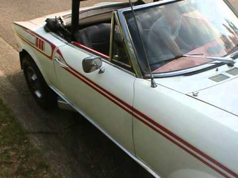 302 V8 Ford Fiat Spider