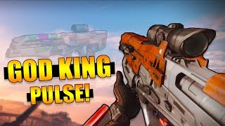 The God King Pulse Rifle!   Destiny