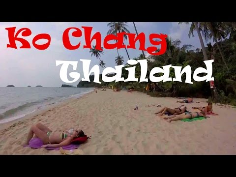 Lonely Beach on KO CHANG, Thailand: Budget Backpacker's Paradise!