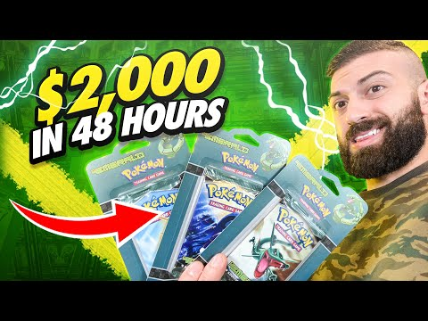 SELLING POKEMON CARDS - (HOW I MADE $2,000 In 48 Hours!)