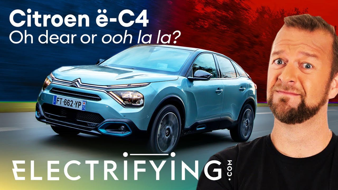 Citroen e-C4 2021 in-depth UK review: Oh dear or ooh la la? / Electrifying