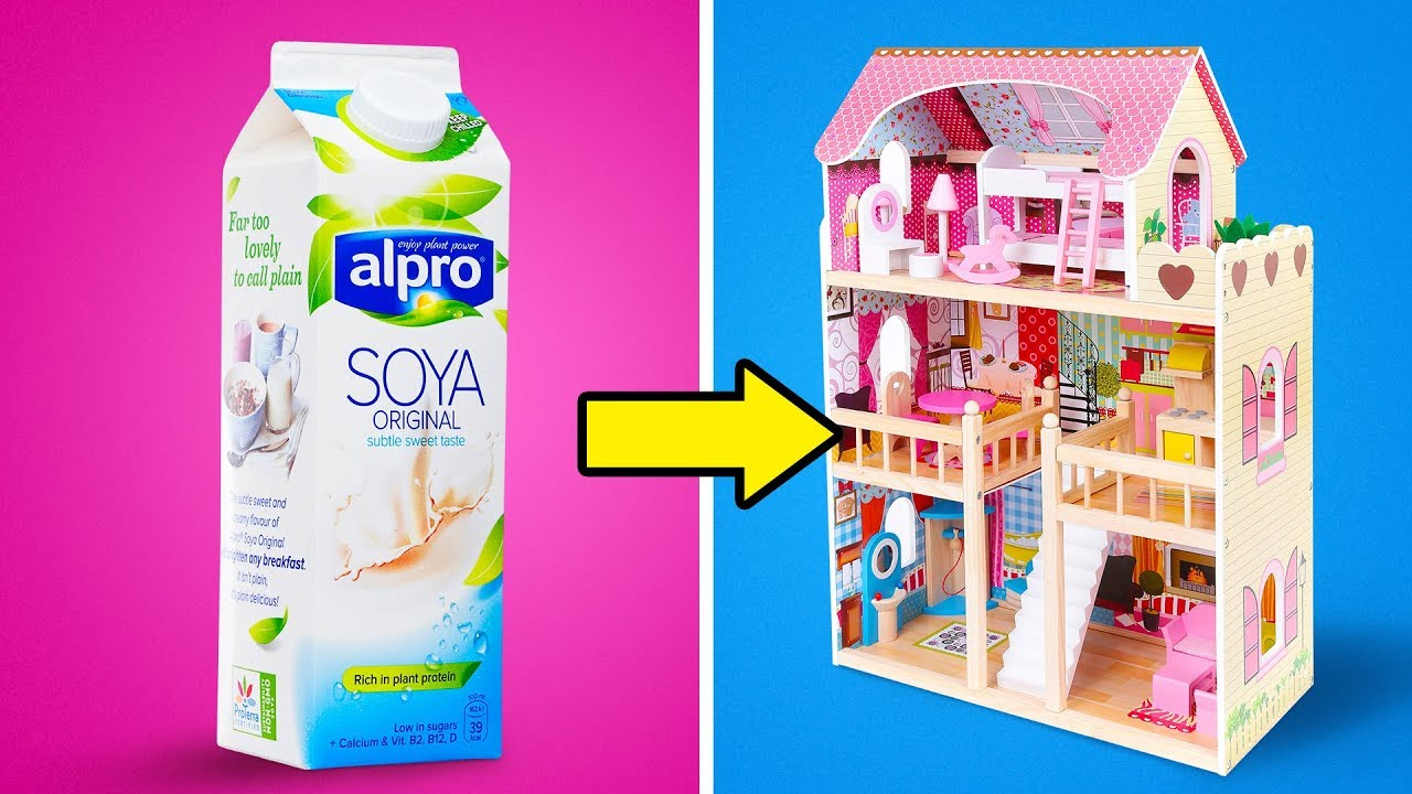 27 Cool Diy Barbie Furniture Ideas Youtube