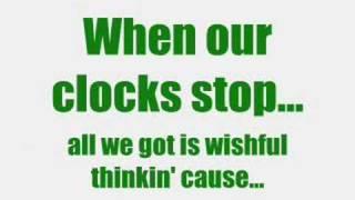 Clock Stops - August with Lyrics