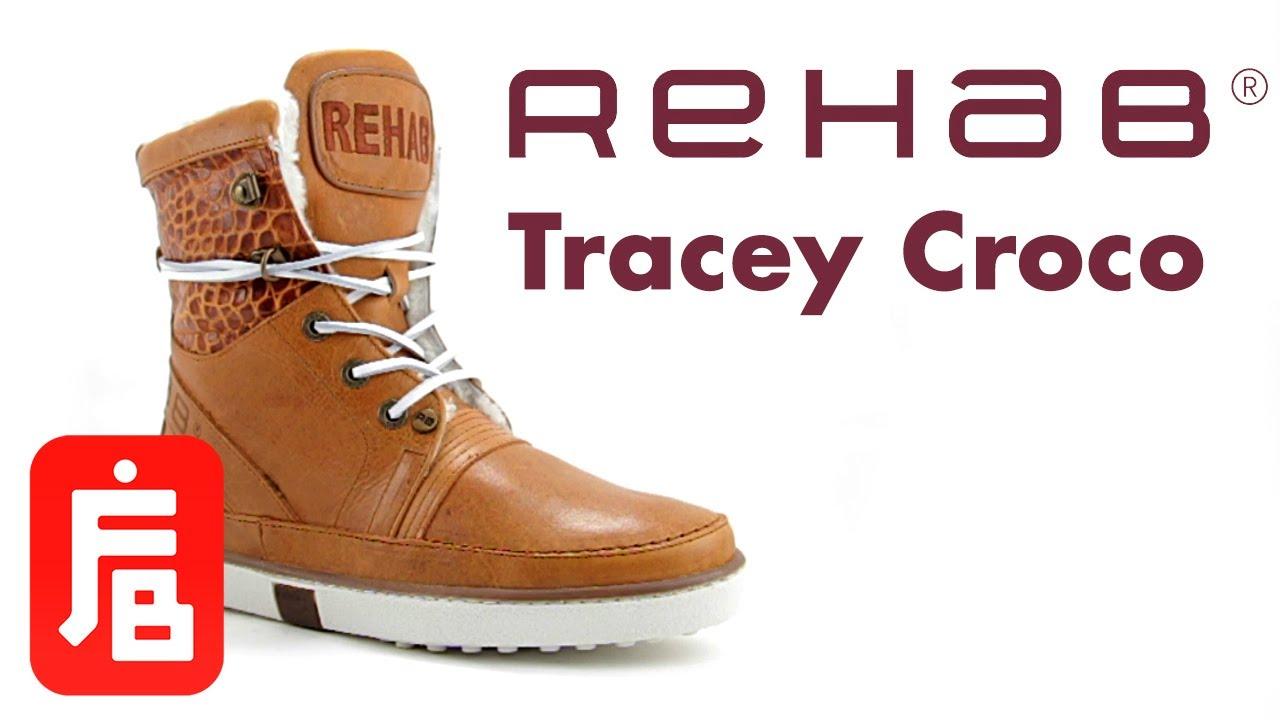 Croco Rehab Footwear Schoenen Cognac Tracey Hoge vvtAHwqW