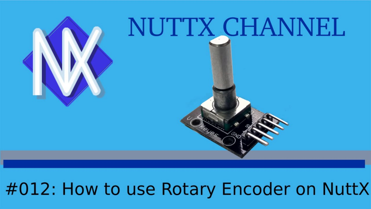 #012: How to use Rotary Encoder on NuttX
