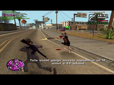 GTA San Andreas Multiplayer WTLS Sawn-Off Montage