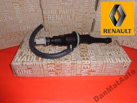 Замена главного цилиндра сцепления Рено Мастер (Renault Master)