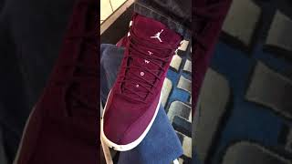 How to clean Jordan Maroon 12