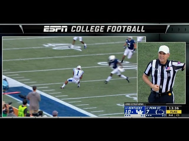 NCAA releases video explaining updated targeting, replay