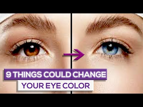 9 Things That Can Change Your Eye Color