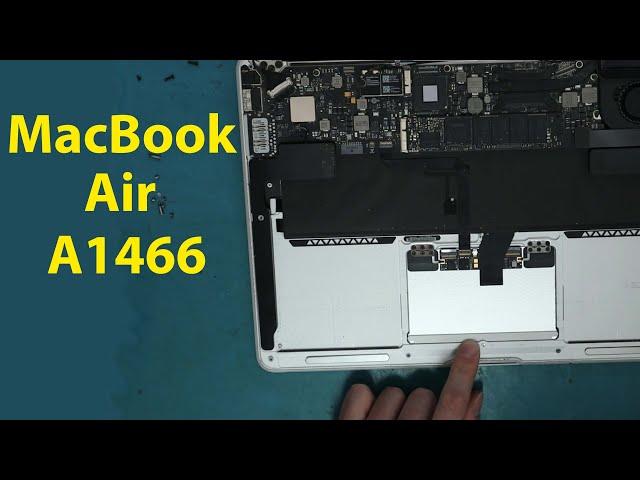 MacBook Air A1466 Trackpad Not Clicking Fix