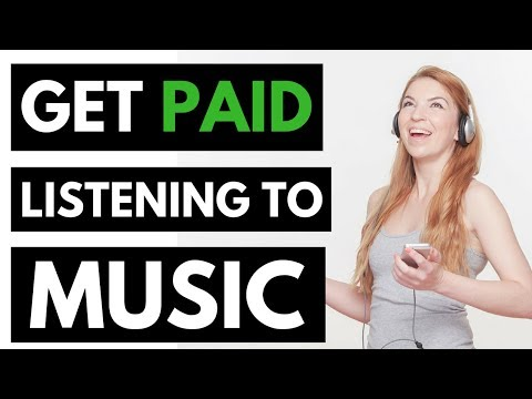 Listen To Music And Get Paid - Listen To Music And Earn Money