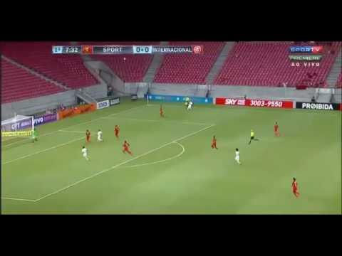 Gols: SPORT-PE 1×1 INTERNACIONAL-SC (21°Rodada) Brasileirão A 2016