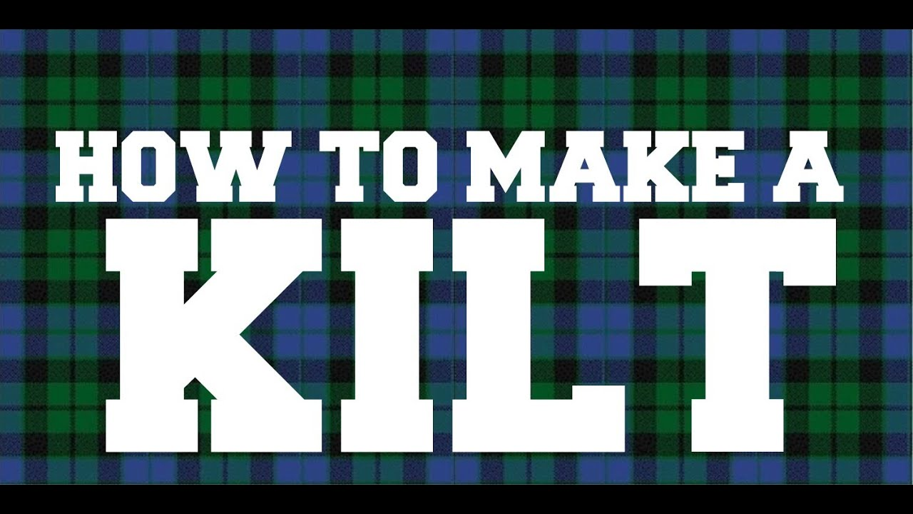 How To Make A Kilt  Part 1  Youtube. Single Bunk Bed With Desk Underneath. Rolling Under Bed Storage Drawers. Bistro Tables For Sale. Travertine Table. Exercise Bike For Under Desk. Hhonors Help Desk. Pedestal Kitchen Table. Tall Console Tables