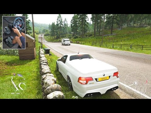 HSV Gen-F GTS Maloo | Forza Horizon 4 Logitech G29 Gameplay (4K 60FPS)